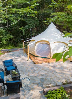 Campings haut de gamme